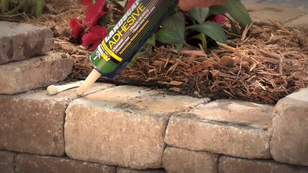 Landscape Block Construction Adhesive : Titebond? provantage landscape adhesive