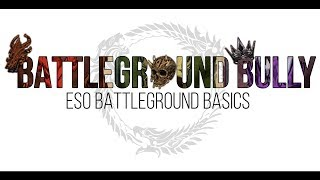 Battleground Basics in The Elder Scrolls Online