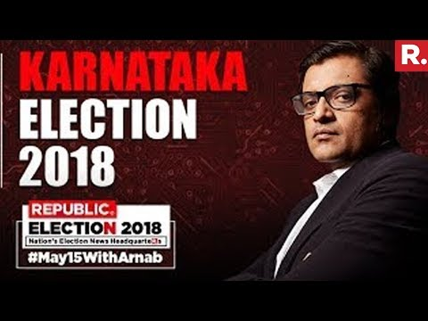 2018 Karnataka Election Results  - LIVE With Arnab Goswami #May15WithArnab