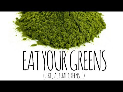 GREEN SUPERFOOD POWDERS: Necessary or Healthy?