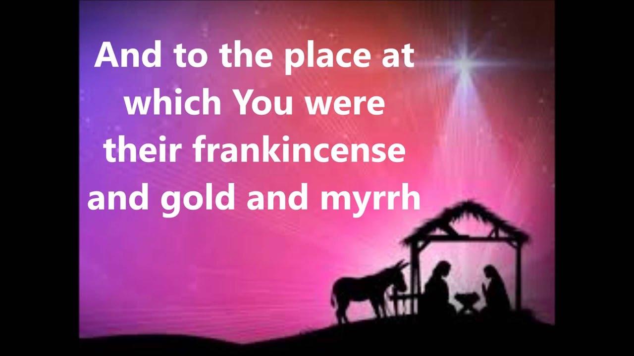 A Hallelujah Christmas- Hannah Jones (Lyrics on Screen) - YouTube