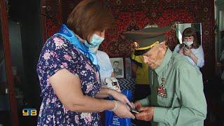 Упоровским ветеранам вручили сотовые телефоны со специальным бесплатным тарифом