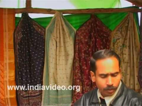 Bengali saree stall in Surajkund Crafts Fair