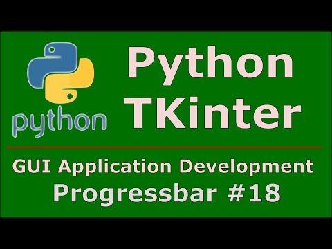 18 Python Tkinter Progress Bar - YouTube