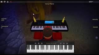 Unravel - Tokyo Ghoul by: Toru Kitajima on a ROBLOX piano. [Acoustic Version]