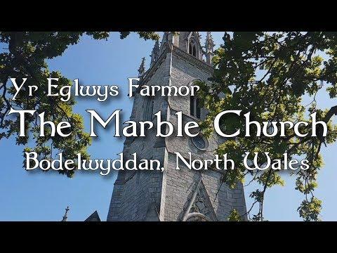 Yr Eglwys Farmor - The MarbleChurch, Bodelwyddan, North Wales