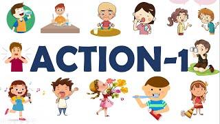 Học Tiếng Anh Chủ Đề Hành Động/Hoạt Động- Action-Part 1- English Online