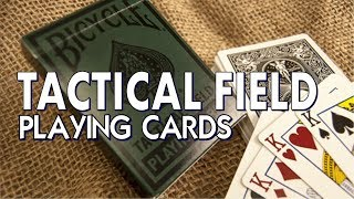 Deck Review - Tactical Field Deck - Bicycle USPCC - Playing Cards