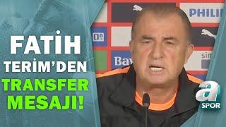 Fatih Terim'den PSV Maçı Öncesi Transfer Mesajı! / A Spor / 20.07.2021