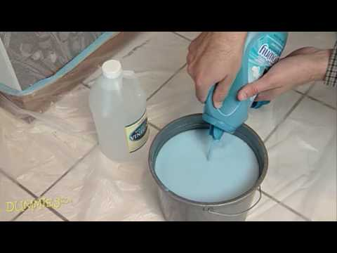 How to Remove Old Wallpaper For Dummies - YouTube