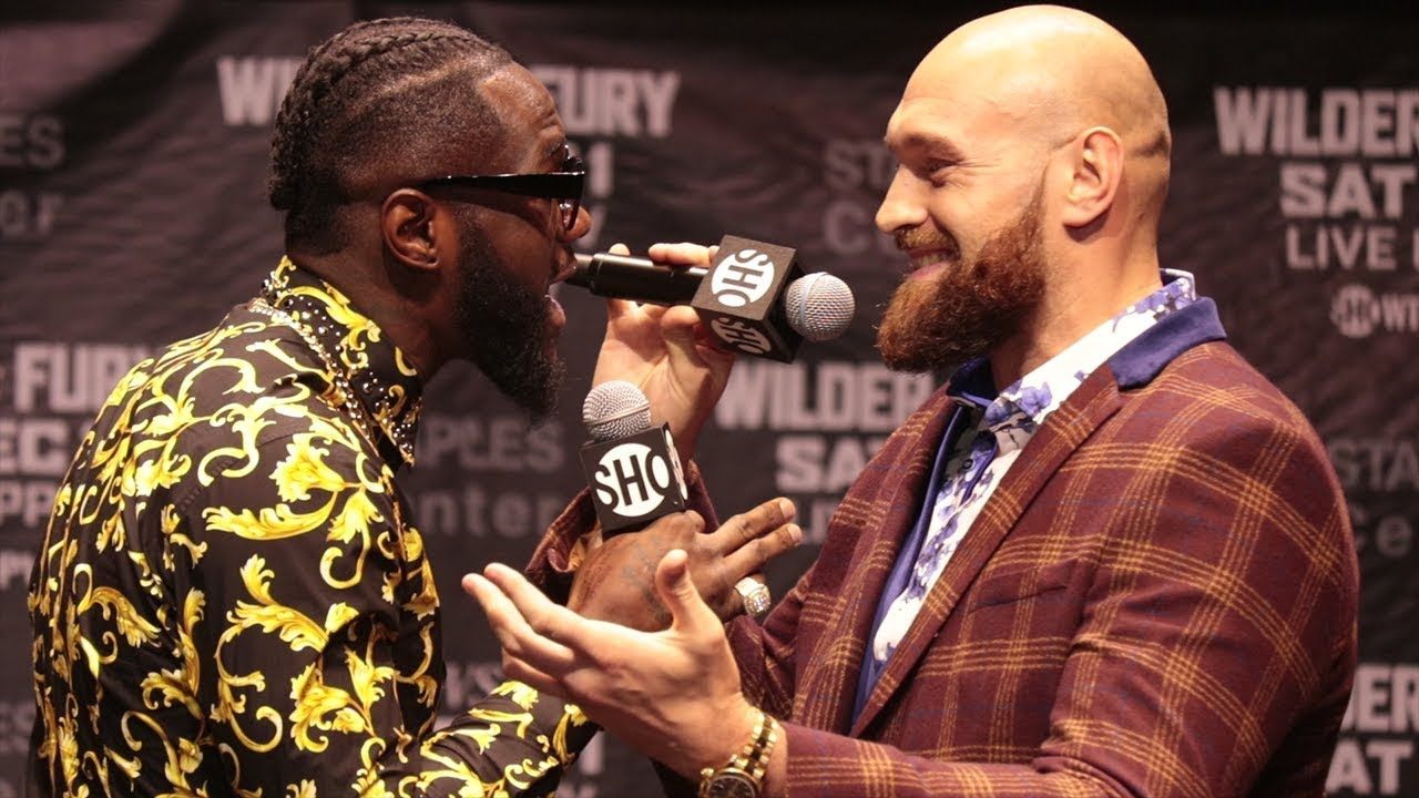 Download DEONTAY WILDER VS TYSON FURY - THE FULL  CRAZY LOS ANGELES PRESS CONFERENCE