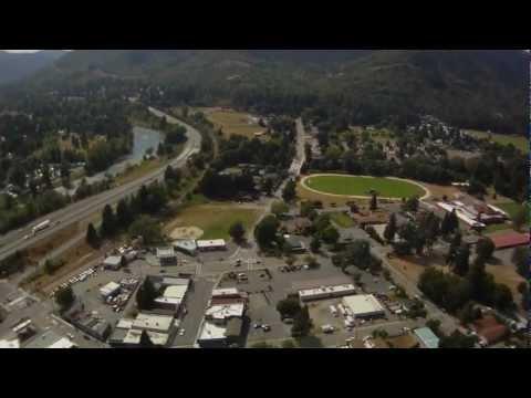 Downtown Rogue River, Oregon
