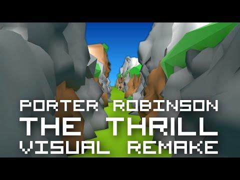 Nero - The Thrill (Porter Robinson Remix)【VISUAL REMAKE】