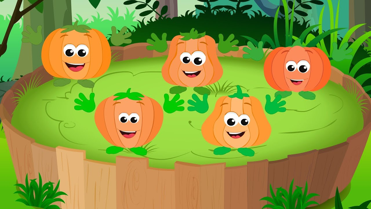 Five Little Pumpkins | Nursery Rhymes For Toddlers | Cartoon Videos For Children by Kids Tv