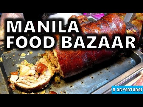 BAGA Manila Food Bazaar, Makati Manila, Philippines S3, Travel Vlog #124