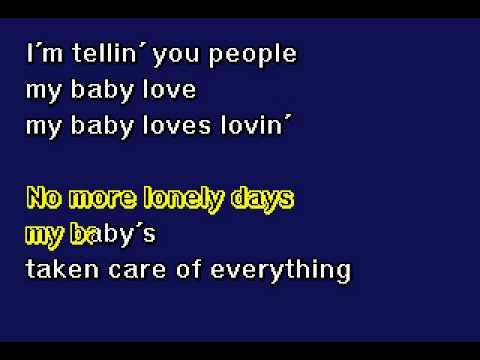 White Plains - My Baby Loves Lovin'- Karaoke