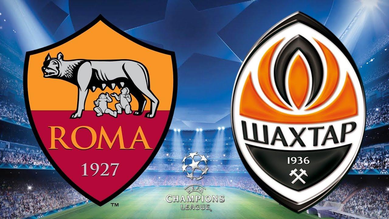 UEFA Champions League 2017/18 - Roma Vs Shakhtar Donetsk - 2nd Leg -  13/03/18 - FIFA 18 - YouTube