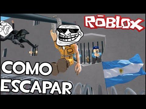 COMO ESCAPAR DE UNA CARCEL ARGENTINA||ROBLOX Prison Life