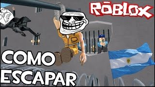 HOW TO ESCAPE AN ARGENTINA CITY ROBLOX Prison Life