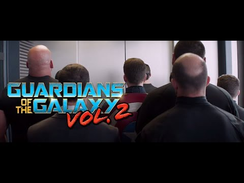 The Winter Soldier - Elevator Scene (Guardians Of The Galaxy 2 Opening )