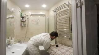 видео Шторка для ванной из стекла (стеклянная) купить на Сантех-Аллегро.ру