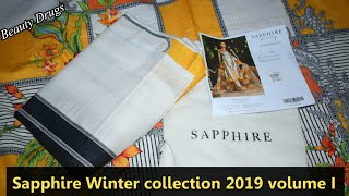 Sapphire Winter Collection 2019 - My Online Shopping Experience From Sapphire