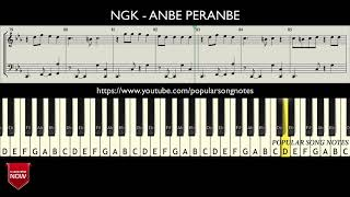 NGK - ANBE PERANBE (HOW TO PLAY) MUSIC NOTES