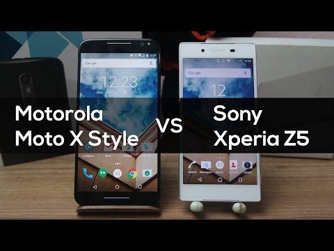 Moto X Style vs Xperia Z5 | Comparativo Brasil