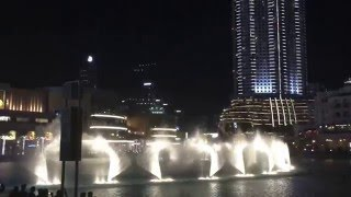 The Dubai Fountain 2015 (La Fontana danzate Dubai)
