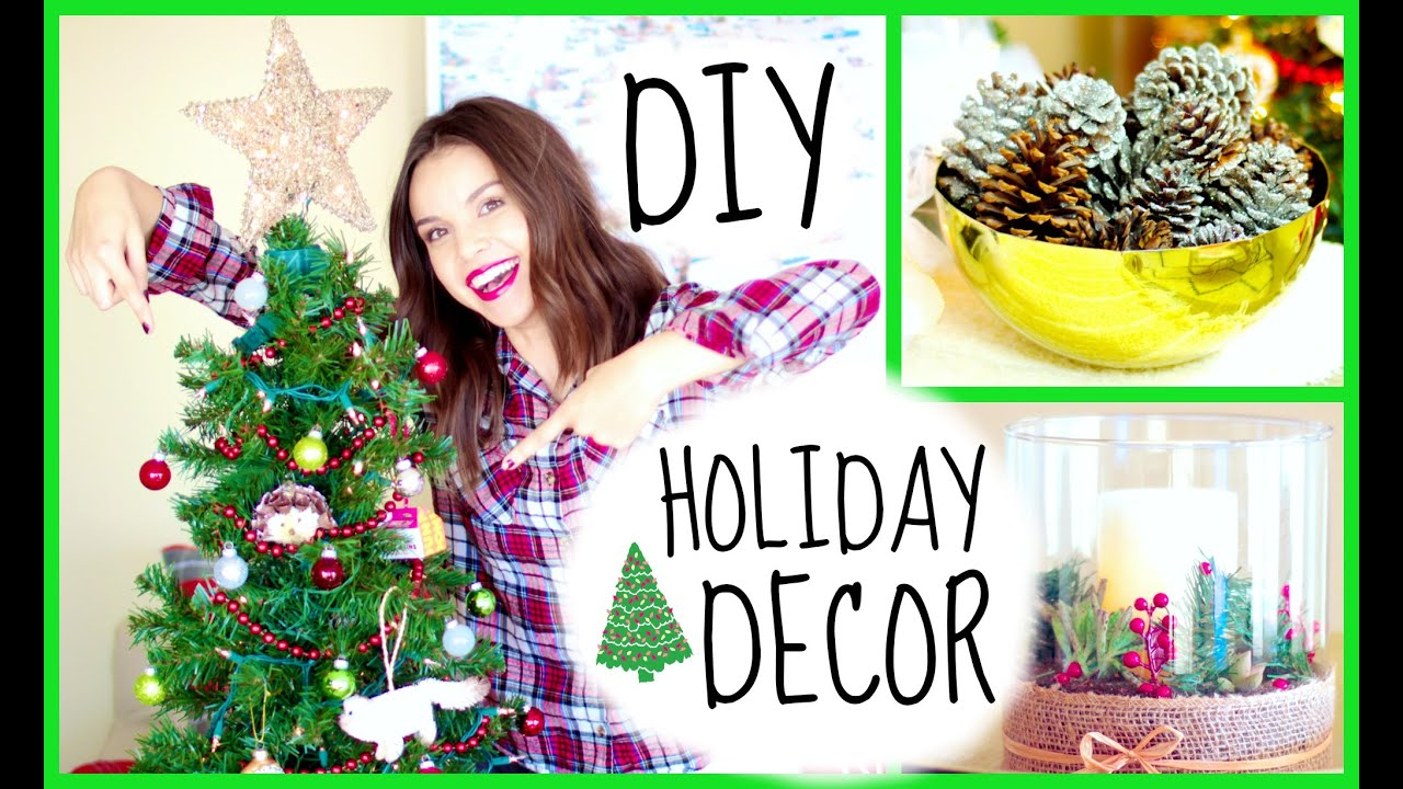 Cute Diy Home Decor Ideas: DIY Cute & Easy Holiday Decor Ideas!
