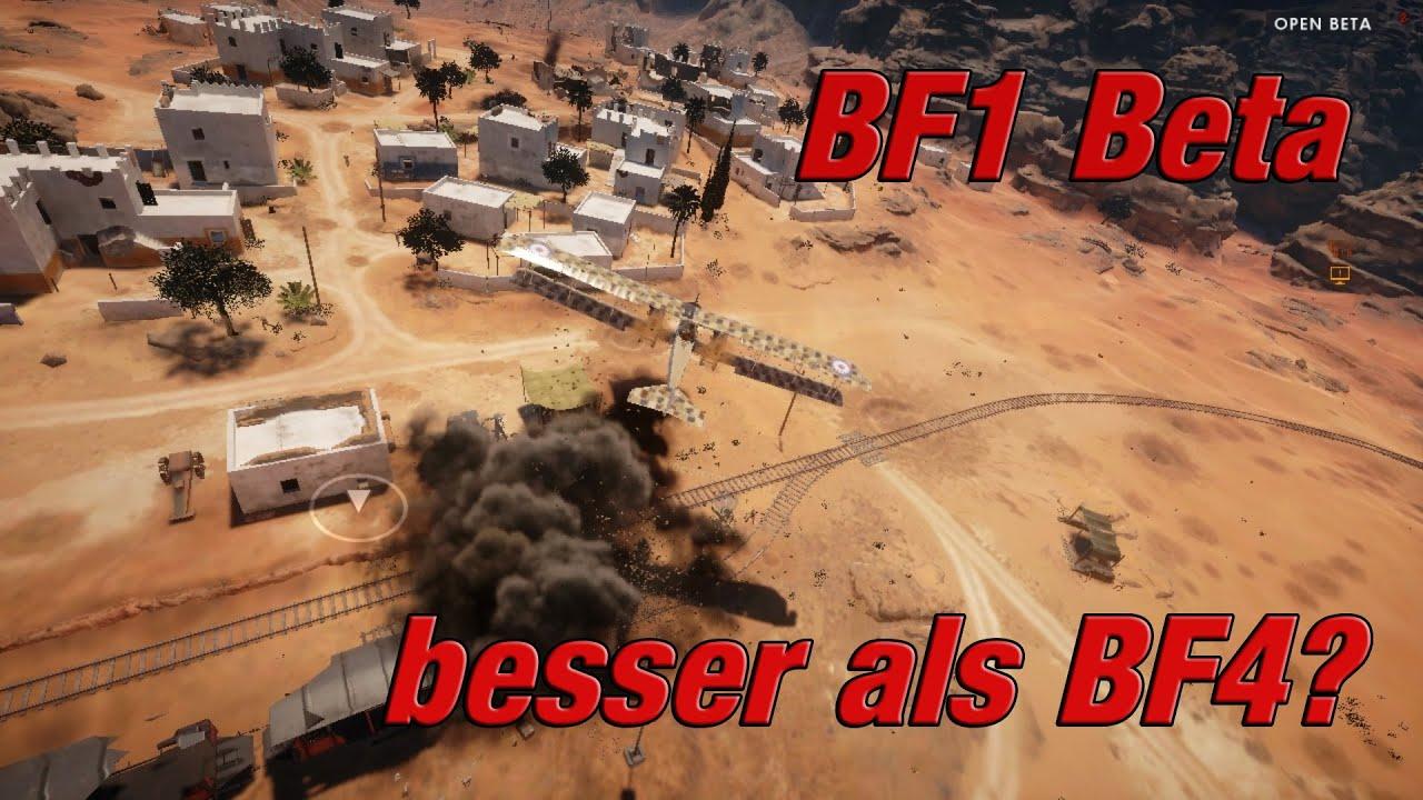 bf1 open beta was ist gut was ist schlecht youtube