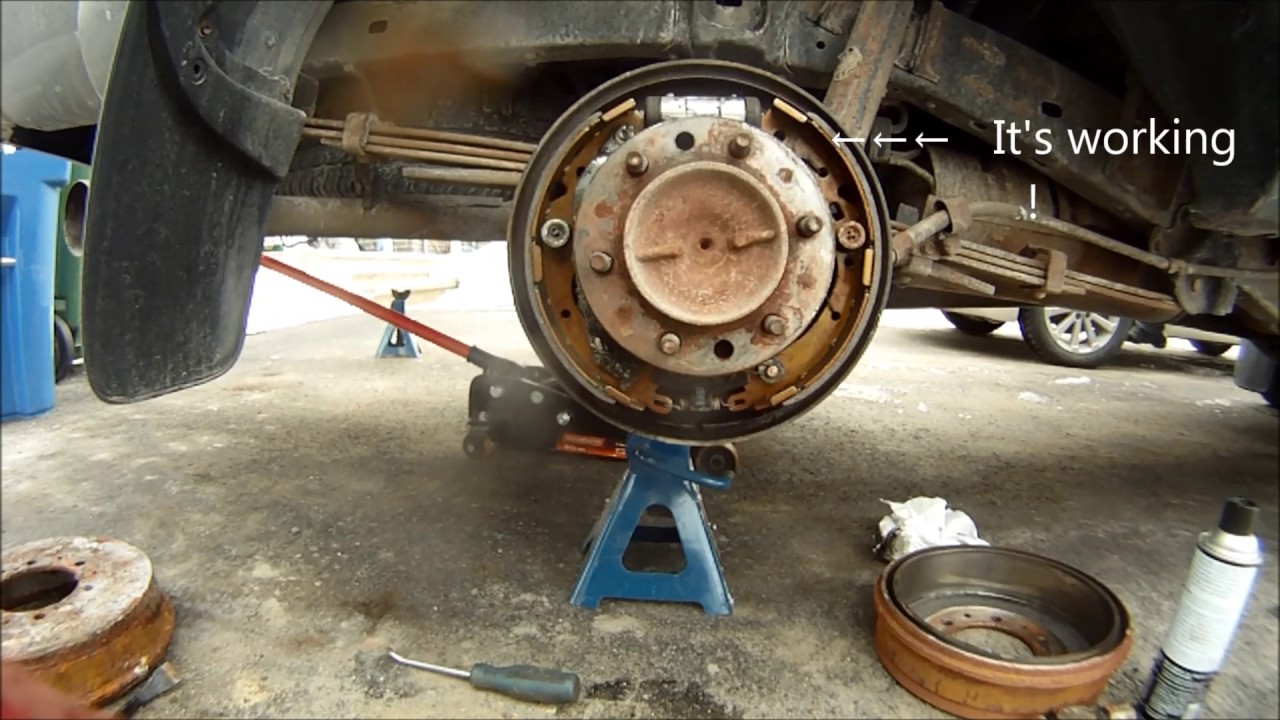 how to fix parking brake toyota [ 1280 x 720 Pixel ]