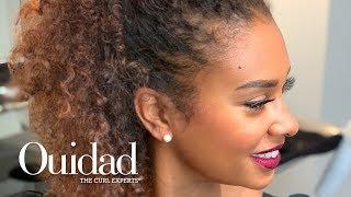 Get the Look: Half-Up Curls