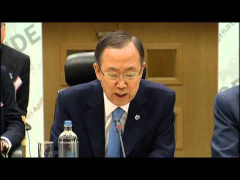 At Brussels conference, Ban Ki-moon says genocide prevention is global responsibility