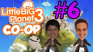 Little Big Planet 3 CO-OP com Gui #6 - OddSock!