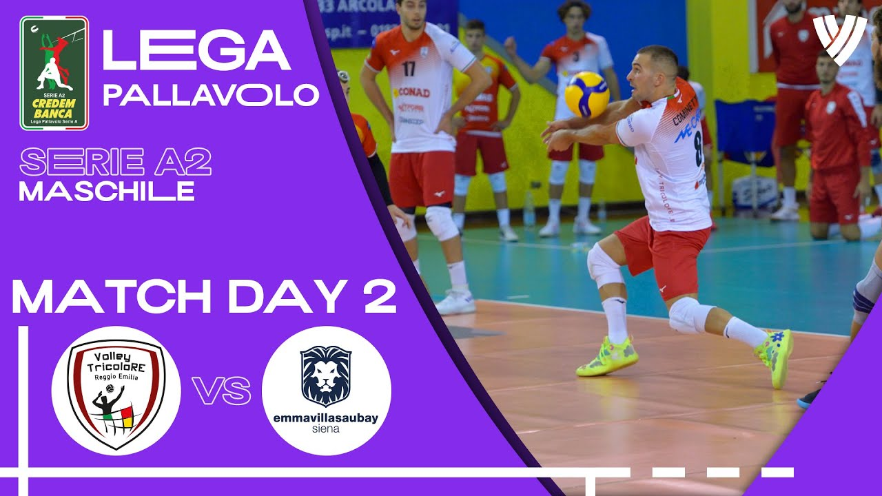 Reggio Emilia vs. Siena - Full Match | Men's Serie A2 | 2021