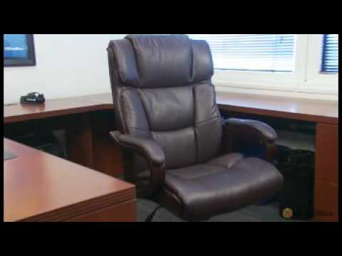 desk chair youtube target armless chairs expert product reviews broyhill big tall