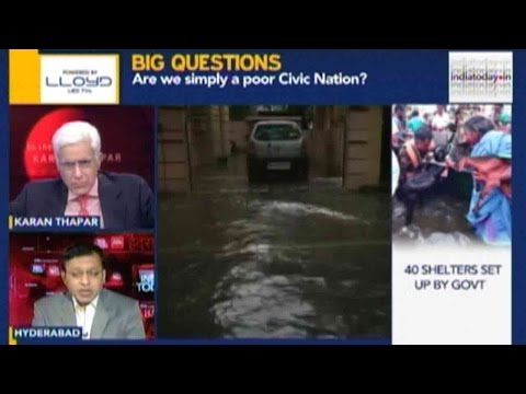To The Point: Chennai Rain Disaster Becoming Worse? (Part 1)