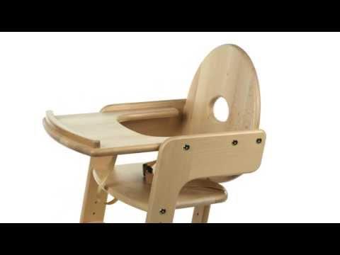 montage des kinderhochstuhls tipp topp von herlag doovi. Black Bedroom Furniture Sets. Home Design Ideas