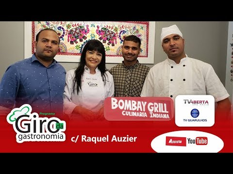 Giro no Restaurante indiano dos nossos Parceiros Bombay Grill