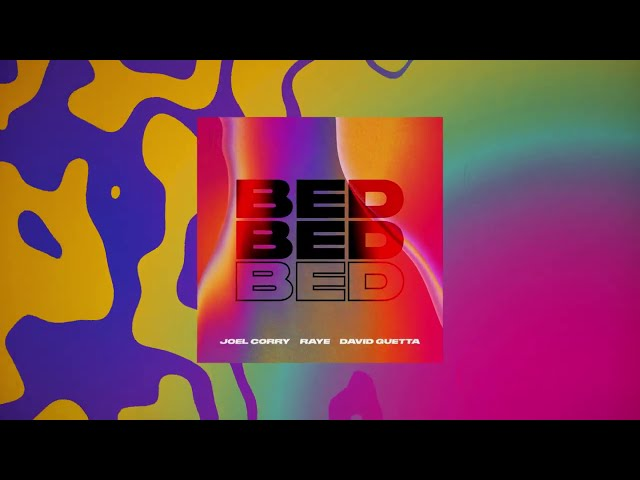Joel Corry x RAYE x David Guetta - BED [visualizer]