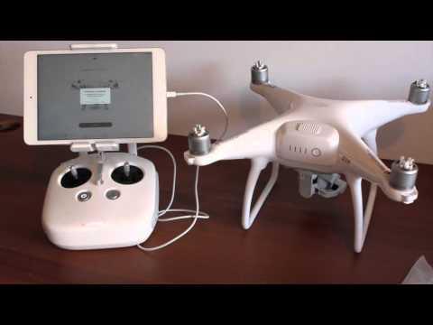 DJI PHANTOM 4 - Drone P4 da caixa até primeiro voo Brasil unboxing review beedrones.com.br