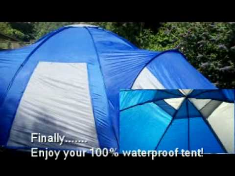 8 Man Tent & 8 Man Tent - YouTube