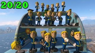 Fallout 4 - Dove trovare tutte le Statuine 20 20 Guida Trofeo Achievement SONO ACTION FIGURES