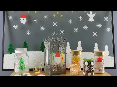 Thorndown Peelable Glass Paint Stencil Craft and Rainbow Packs