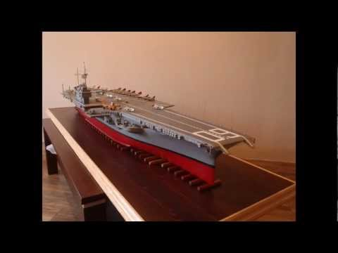 USS SARATOGA CVA 60 1:200 - part 1