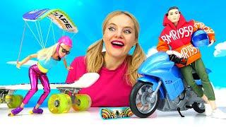 Барби хочет понравиться Кену. Видео для девочек. Экстремальное знакомство в шоу \