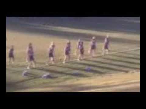 Chalybeate warrior cheerleaders