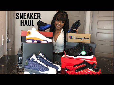 Summer Sneaker Haul   Recent Pickups 2020   Brianna Cosey from YouTube · Duration:  17 minutes 30 seconds