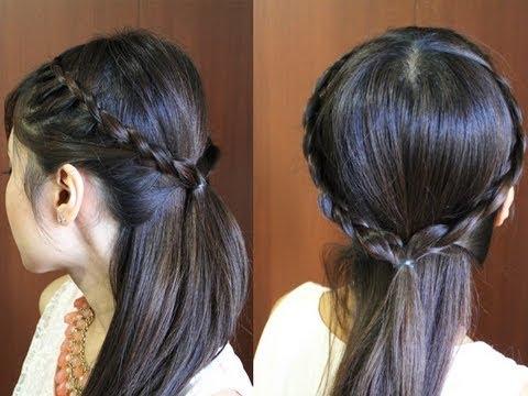 princess crown braid hairstyle